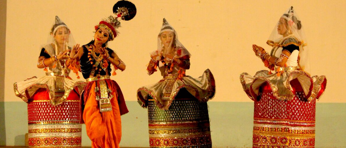 workshop on Manipuri Dance