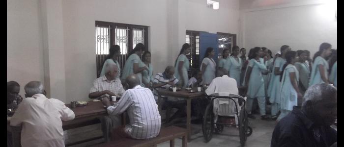 Visit to Shanthi Sadanam 2015-16