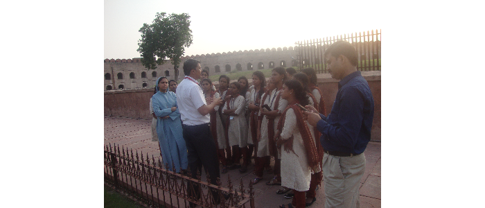 Study Tour of MSW Students at Kulu, Manali ,Agra and Delhi-2015