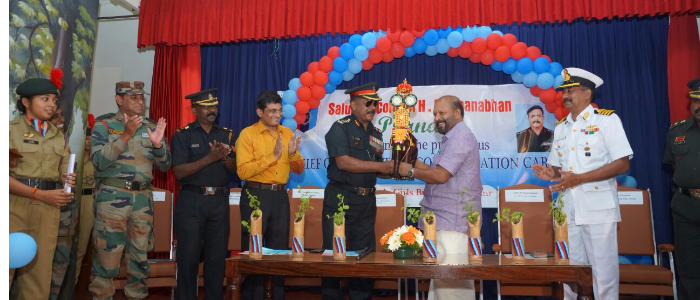 reception to Col H. Padmanabhan
