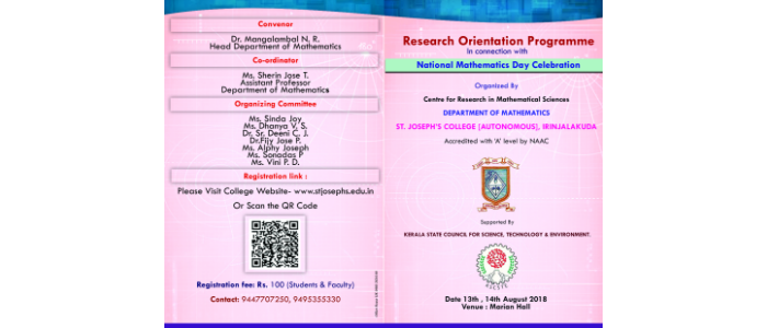 Research Orientation Programme