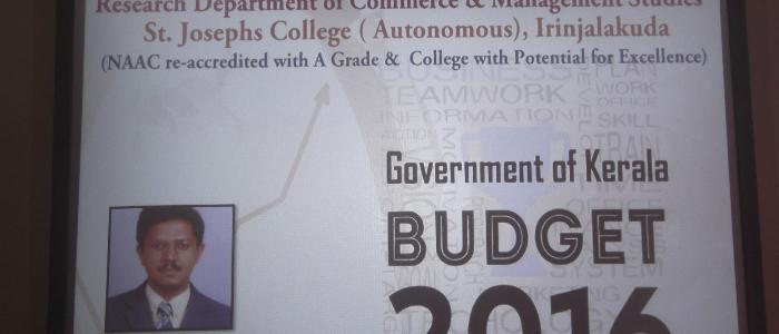 Budet analysis - Seminar