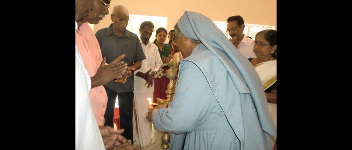 Medical Camp at Mala Grama Panchayath 2013