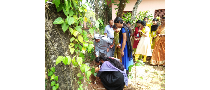 Inauguration of RET Garden