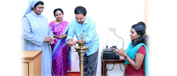 Inauguration of English Literary Association  Mr. K. P. Unni, Renowned Writer