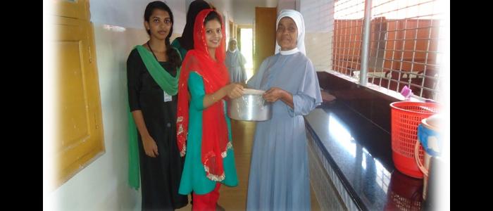 Visits to Santhi Sadan