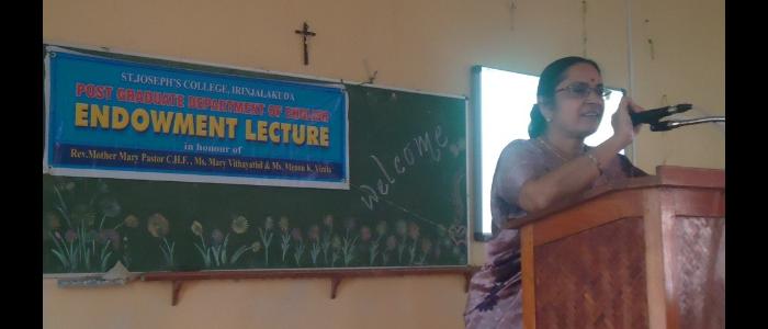 Endowment Lectures