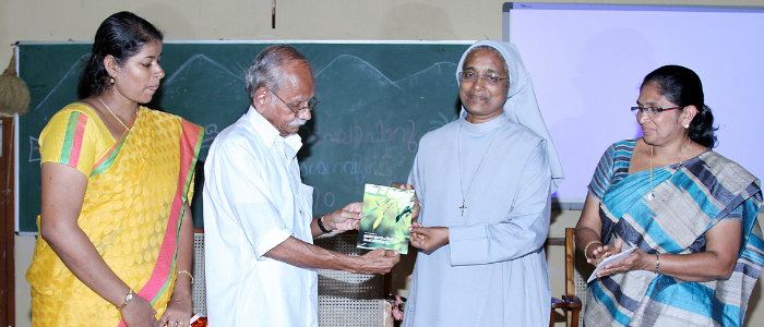 Book Release of Jency K A by Prof. S K Vasanthan