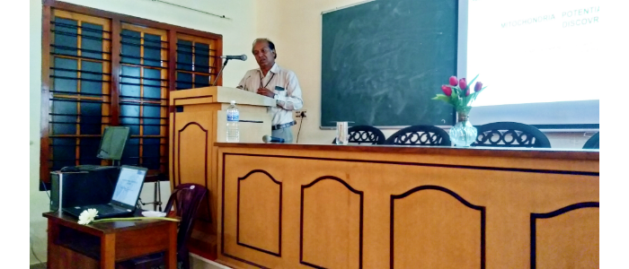 Invited talk by Dr.Raghu K J ,Principal Scientist & Head Agro processing and technology Division, CSIR-NIIST, TVM