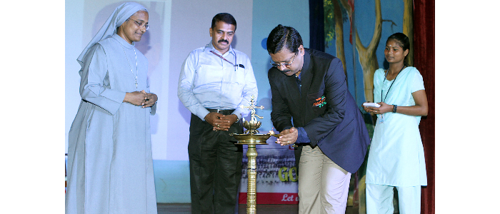 MR JIJI THOMSON IAS-DIRECTOR GENERAL, SAI-INAUGURATING THE CIVIL SERVICE COACHING PROGRAMME