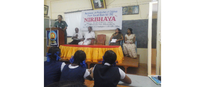 Awareness  on NIRBHAYA -2015