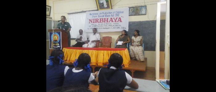 Awareness  on NIRBHAYA -2015