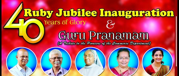 Ruby Jubilee Inauguration &Guru Pranamam