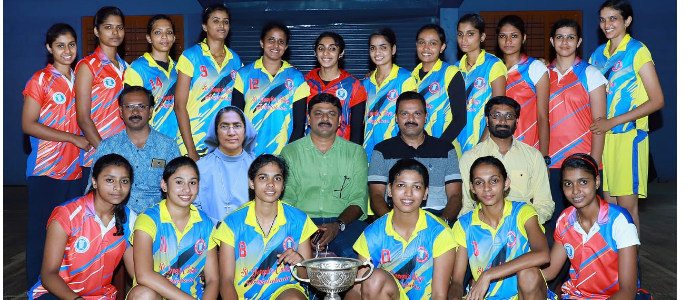 Bagged 41st Calicut University inter zone Volleyball championship