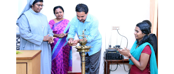Inauguration of the  activities of English Literary Association 2015 - 2016