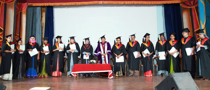 Convocation of First Autonomous Post graduate course
