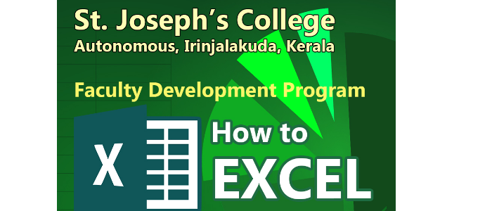 'How to Excel'  Faculty Development Programme by IQAC