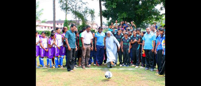 CALICUT UNIVERSITY INTER COLLEGIATE WOMEN FOOTBALL CHAMPIONSHIP ORGANISED BY  ST JOSEPH'S COLLEGE, IJK