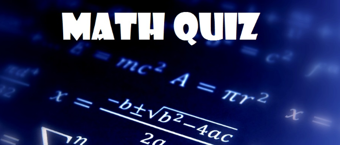 Inter Collegiate/School  Mathematics Quiz Competititon