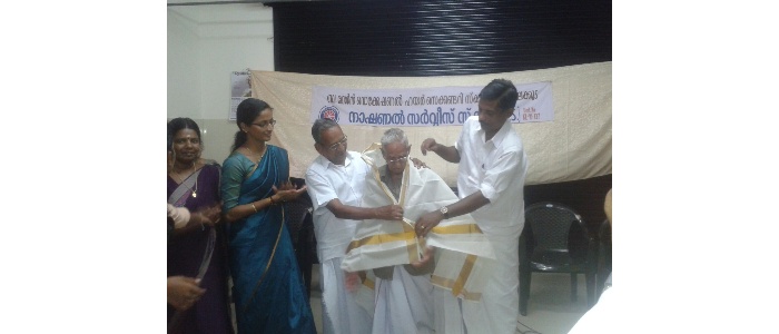 Observance of  World Elders Day-2015