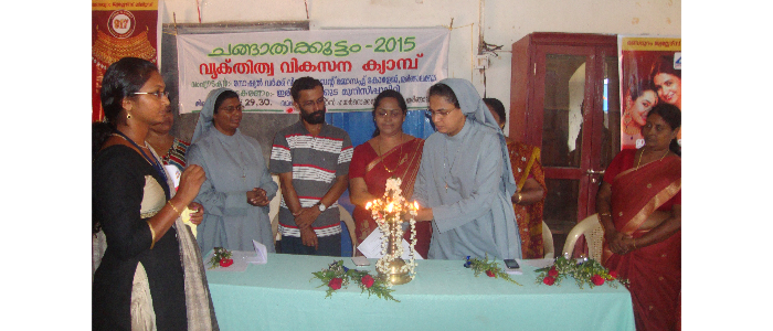 Changathikootam-Children's Camp at Irinjalakuda Municipality-2015