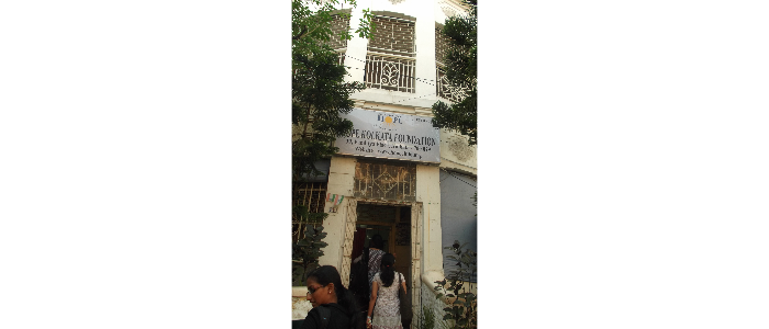 Study Tour of MSW students at Calcutta-2013
