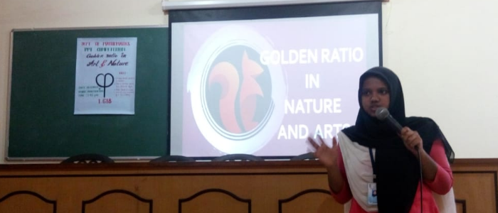 Presentation competition on golden ratio