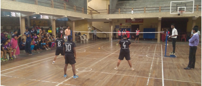 INTERCOLLEGIATE SEPAK TAKRAW 2017-2018 ORGANISED BY ST JOSEPHS COLLEGE,IRINJALAKUDA