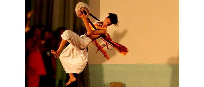 manipuri dance ornanized by NC