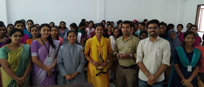 Faculty and students