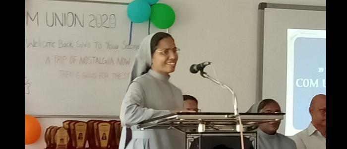 Welcome speech by Dr Sr Elaiza